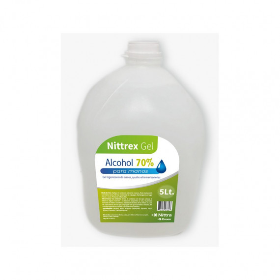 Alcohol Gel Nittrex 5 Litros
